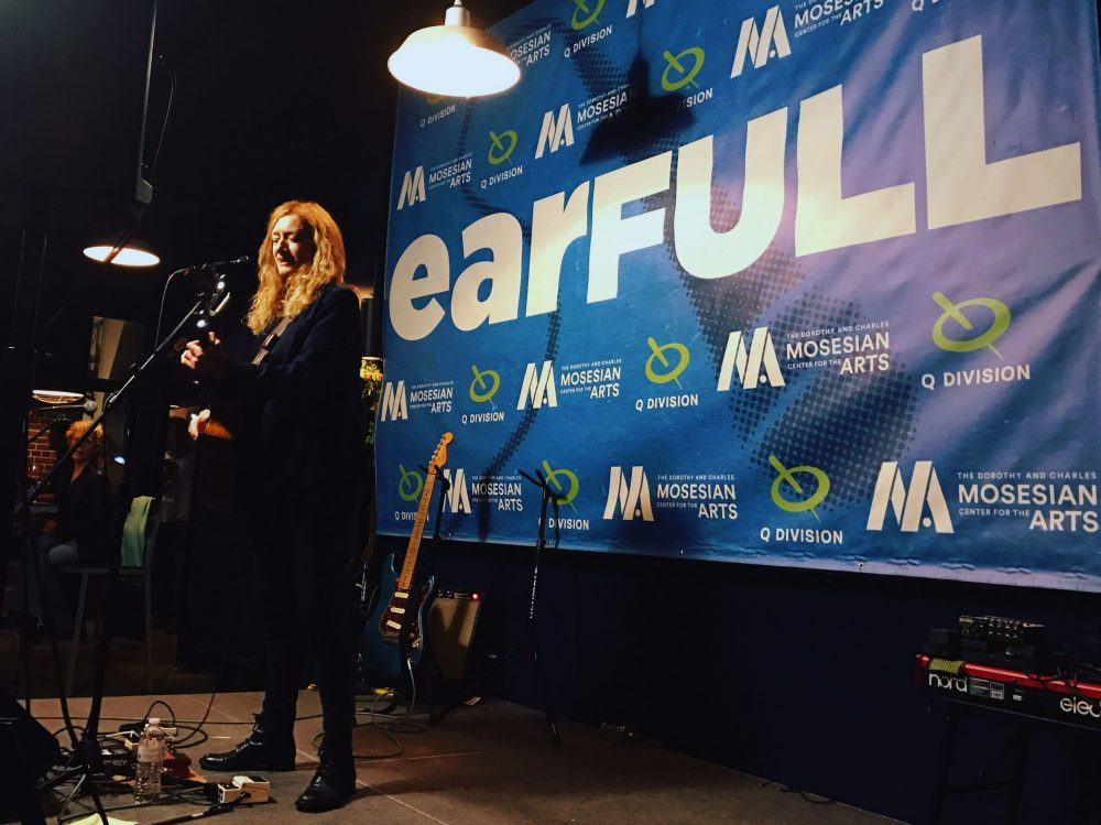 Patty Larkin performs at Earfull in May. (Courtesy Tamara Wieder)