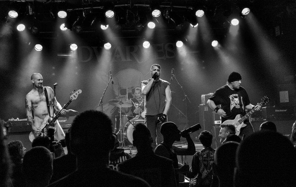 The Dwarves play a show in Berlin in 2016. (Courtesy Stefan Müller)