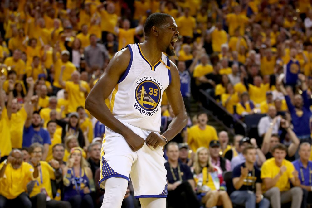 Has Kevin Durant made the NBA Finals boring? (Ezra Shaw/Getty Images)