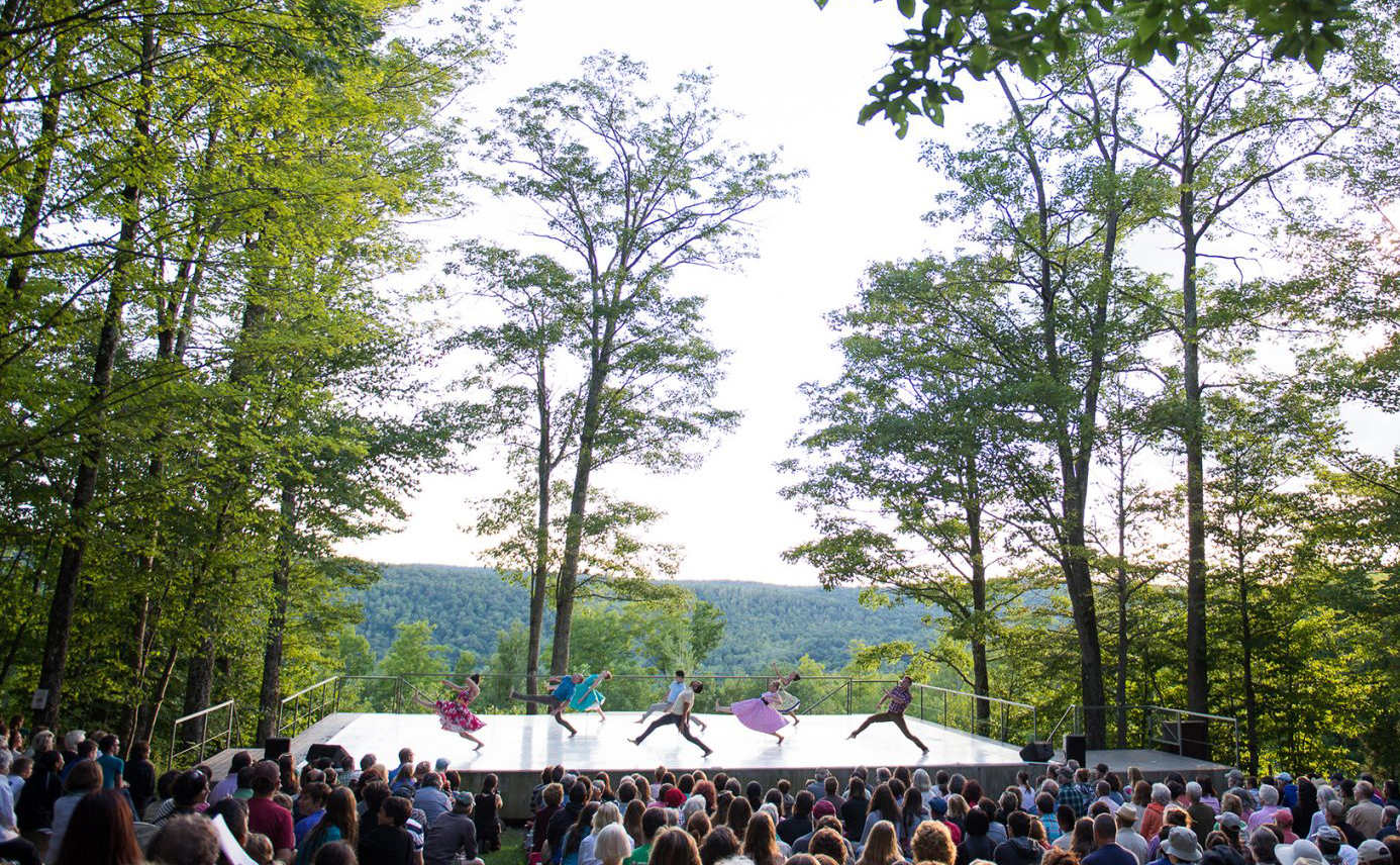 Dark Circles Contemporary Dance performing at Jacob's Pillow. (Courtesy Cherylynn Tsushima/Jacob's Pillow Dance)