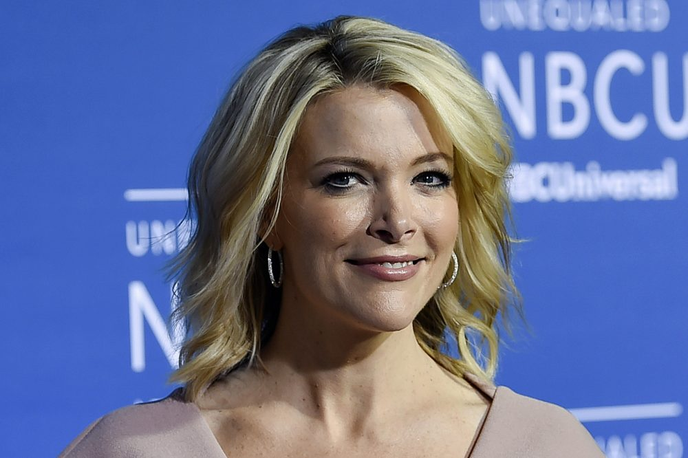 In this May 15, 2017, file photo, television journalist Megyn Kelly attends the NBCUniversal Network 2017 Upfront at Radio City Music Hall in New York. The families of some Sandy Hook shooting victims are angered by a planned NBC television interview by Kelly scheduled to air Sunday, June 18, 2017, with Alex Jones, who has claimed the 2012 massacre in Newtown, Conn., never happened. (Evan Agostini/Invision/AP)