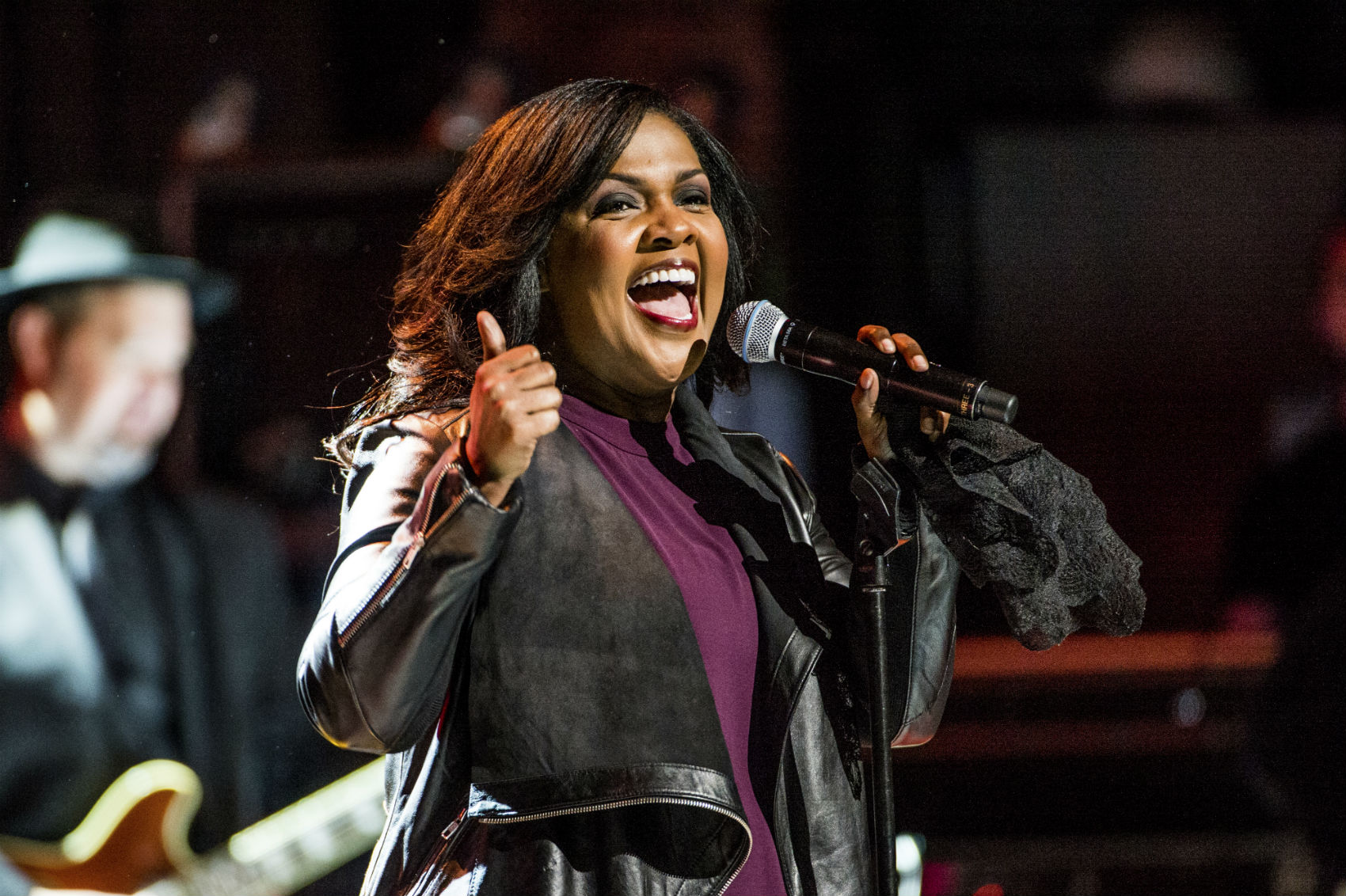 CeCe Winans performs in New York City on March 9, 2017. (Amy Harris/Invision/AP)