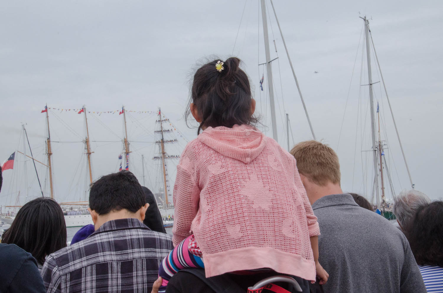 It's been 17 years since Boston Harbor saw the Grand Parade of Sail. (Sharon Brody/WBUR)