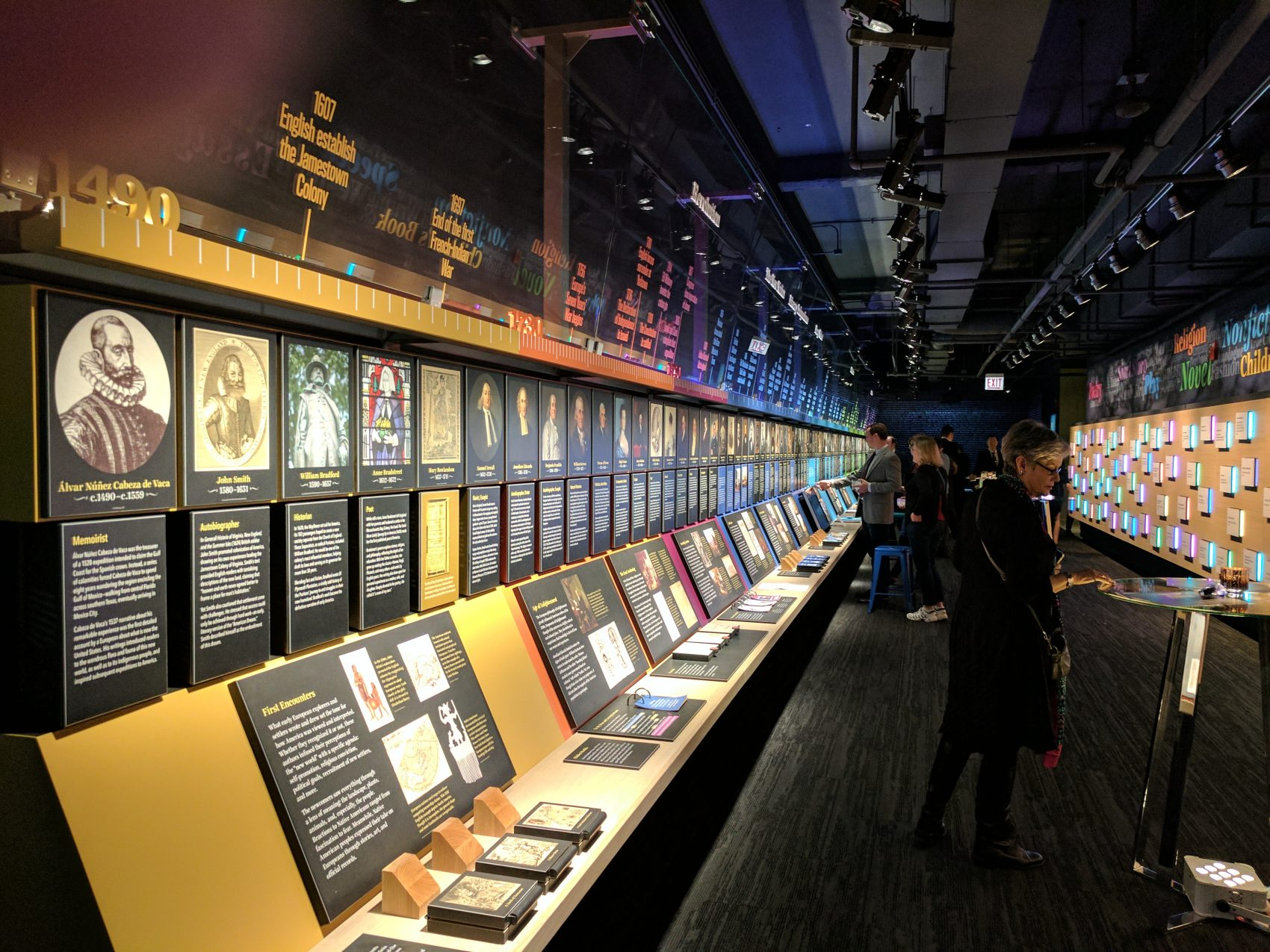 The American Writers Museum in Chicago. (Courtesy American Writers Museum)