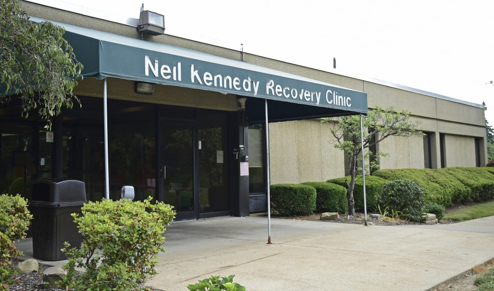 The exterior of the Neil Kennedy Recovery Clinic, Thursday, June 15, 2017, in Youngstown, Ohio. Republicans plan to roll back the expansion of Medicaid that would have a lopsided impact on states taking the brunt of the nation's opioid addiction epidemic. (David Dermer/AP)