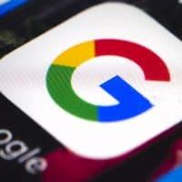 The Google mobile phone icon. (Matt Rourke/AP)