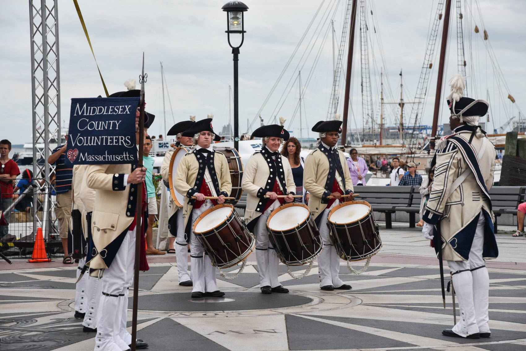 Middlesex County Volunteers at last year's Harborfest. (Courtesy Harborfest)