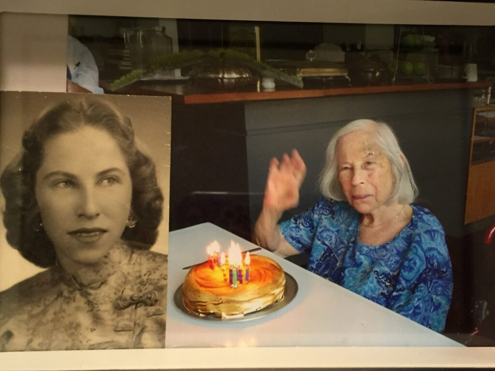 Two photos of Ruth Lewin (Courtesy Josh Lewin)