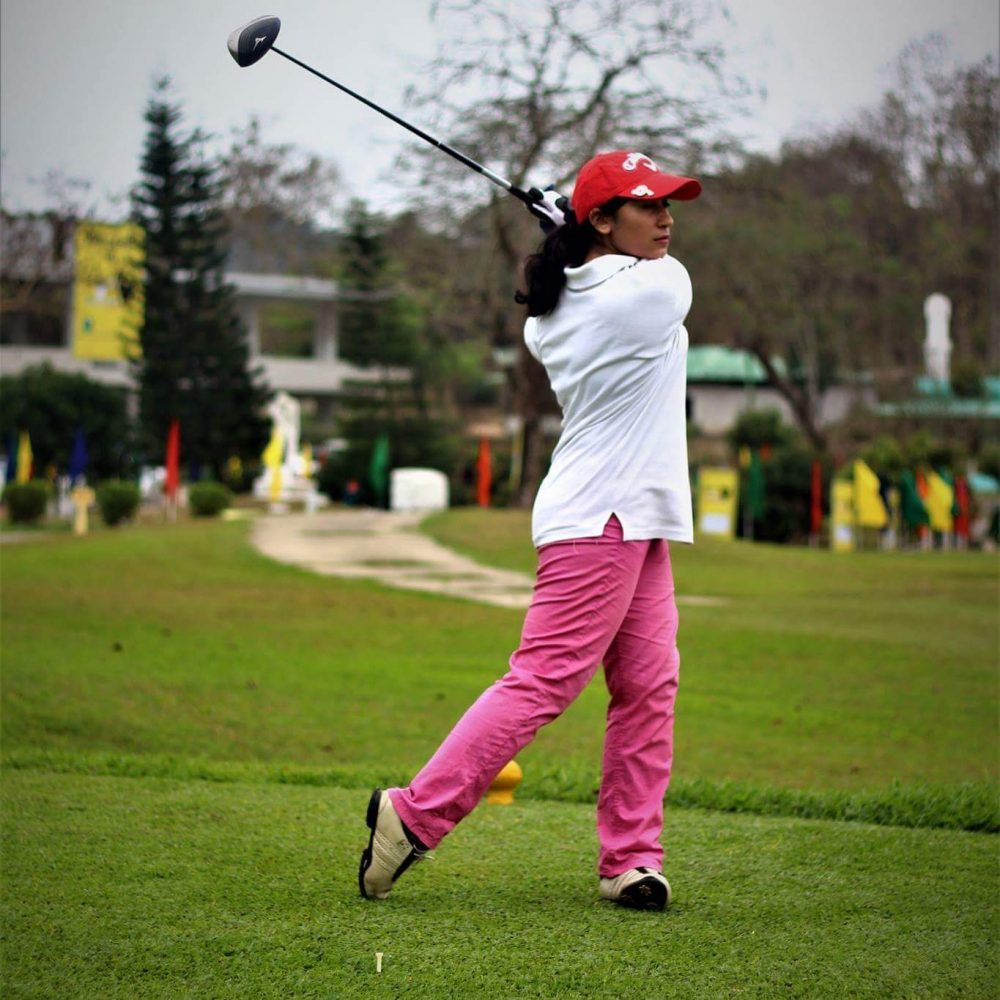 Shagufa Habibi has only been golfing for a couple years -- but she credits the sport with changing her life. (Courtesy of Shagufa Habibi)