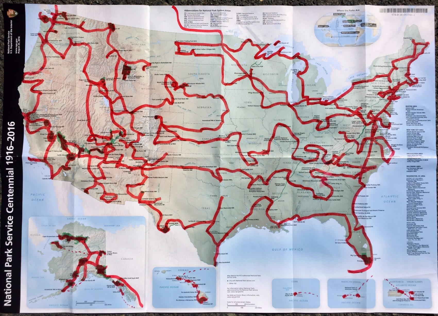 This Man Is On A Quest To Visit All 417 National Park Sites In One ...