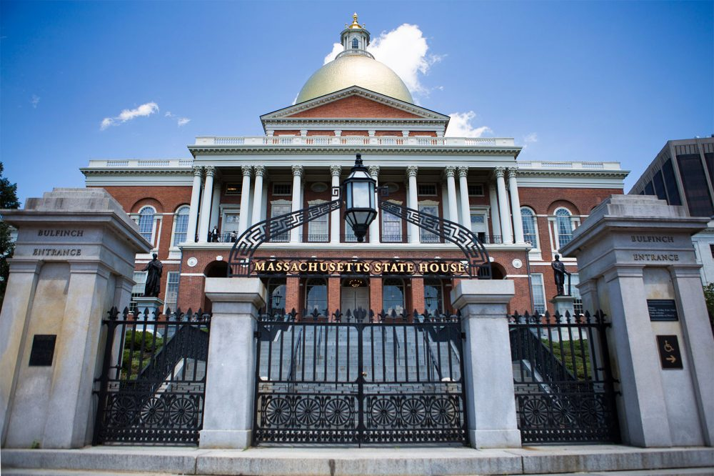 Massachusetts State House. (Jesse Costa/WBUR)