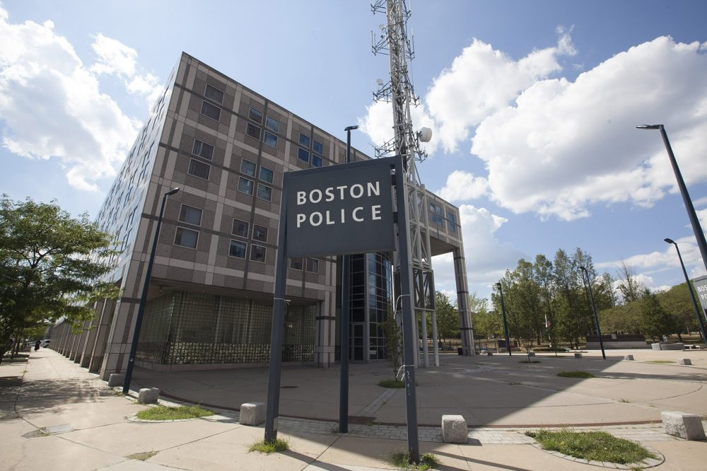 Boston Police Headquarters. (Joe Difazio for WBUR.)