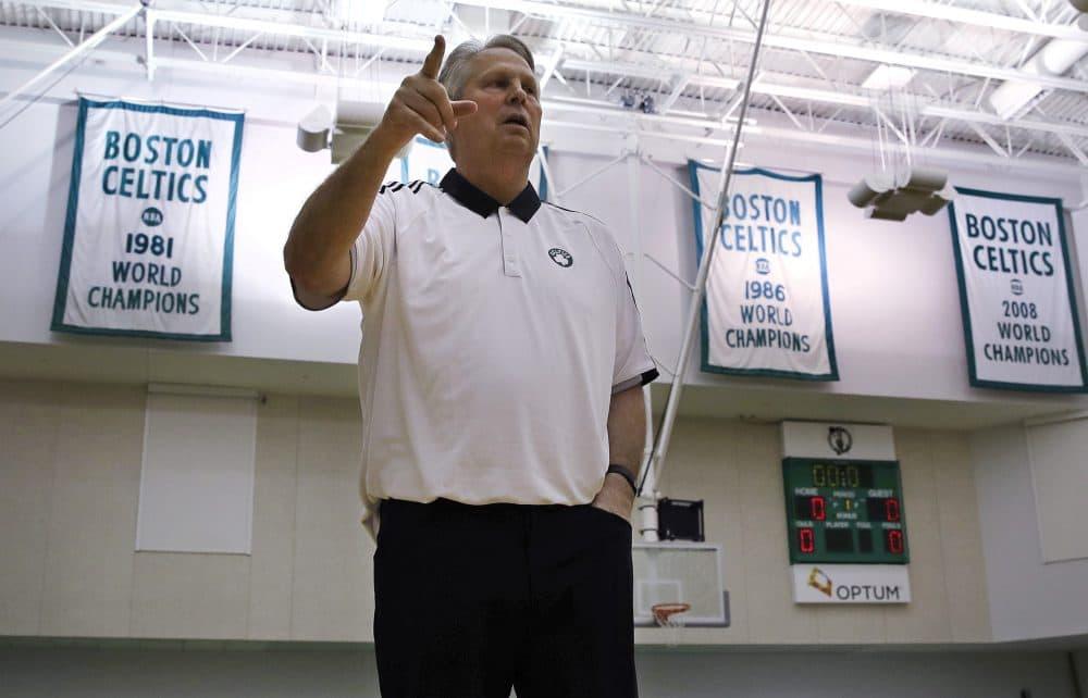 Celtics president of basketball operations Danny Ainge (Charles Krupa/AP)
