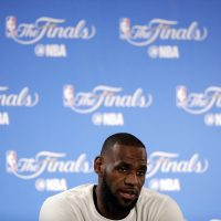LeBron James is leaving the Cleveland Cavaliers for the Los Angeles Lakers. (Marcio Jose Sanchez/ AP)