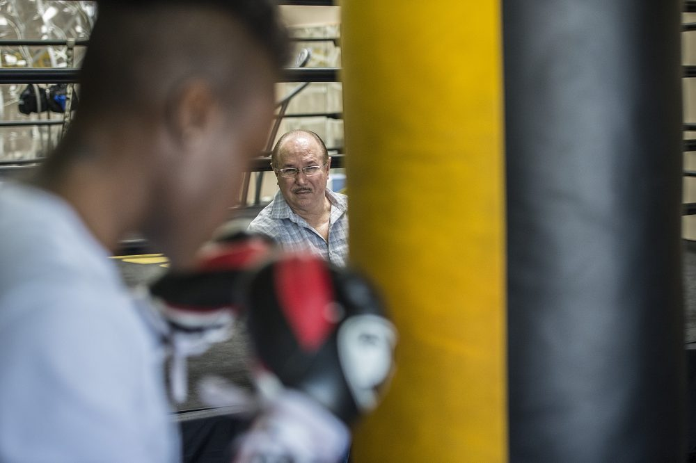 Now that most of his clients are fighters, Victor Conte has pushed for better performance-enhancing drug testing in boxing. (Kohjiro Kinno/Sports Illustrated)
