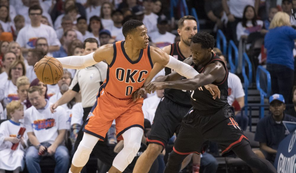 Was OKC's Russell Westbrook the right choice for NBA MVP? (J Pat Carter/Getty Images)