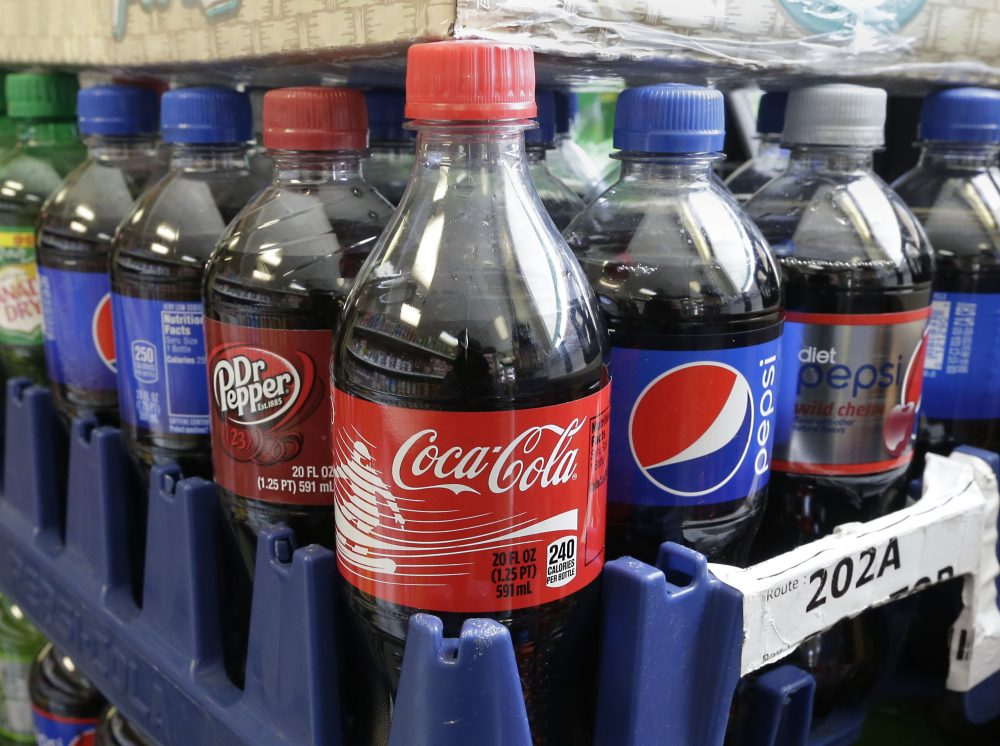 A tax on sugar-sweetened beverages could also raise funds to fix water fountains in schools and refurbish playgrounds, write Louisa Kasdon and David Martin. Pictured: Sugary sodas. (Rich Pedroncelli/AP)