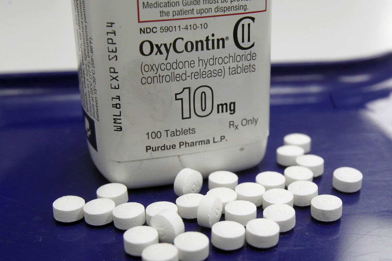 Pictured here is OxyContin. (Toby Talbot, File/AP)