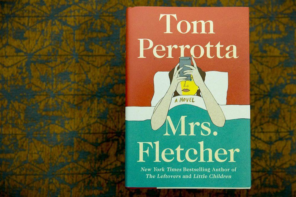 """Tom Perrotta's new book, """"Mrs. Fletcher."""" (Robin Lubbock/WBUR)"""