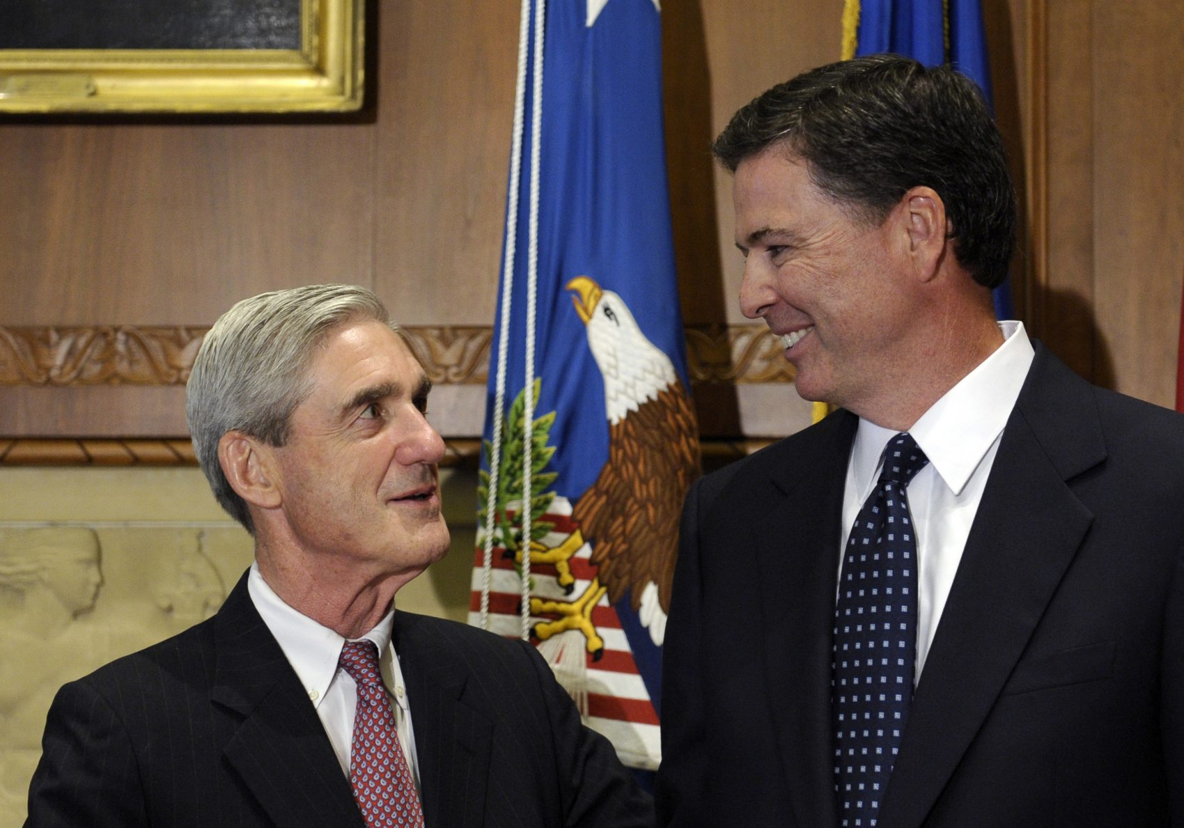 The Long History Between Robert Mueller And James Comey