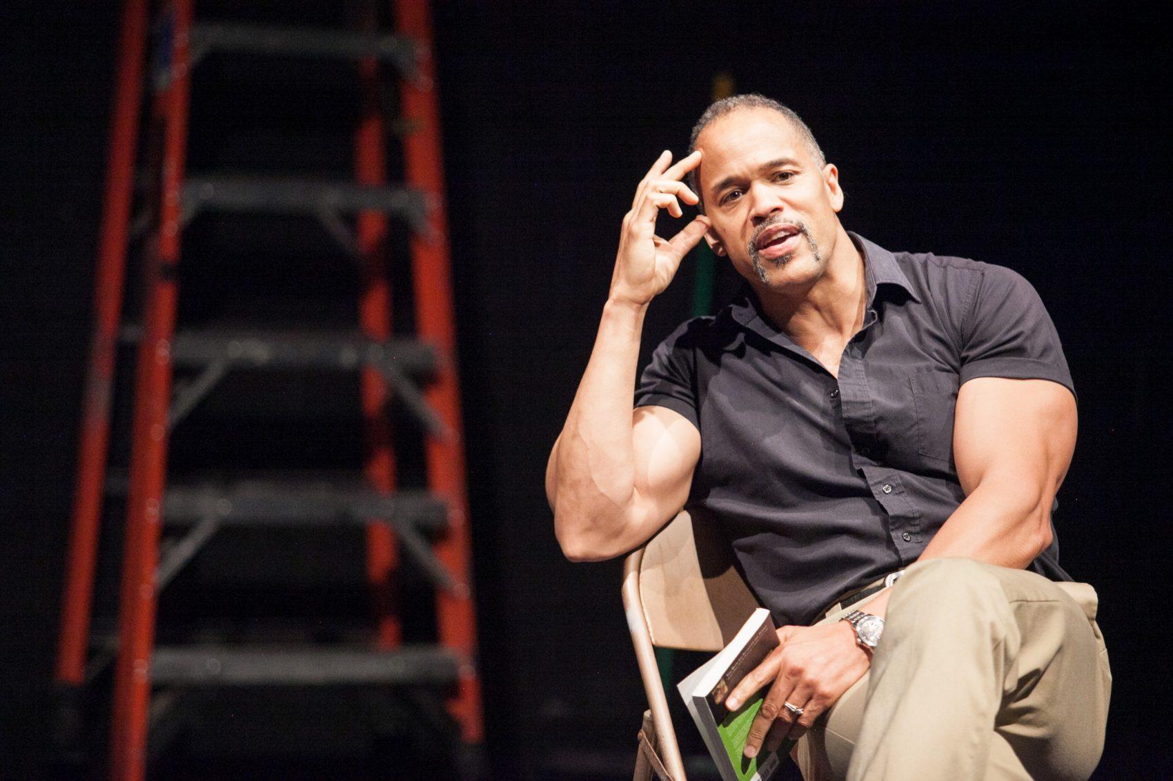 """Keith Hamilton Cobb in his play, """"American Moor."""" (Courtesy """"American Moor"""")"""