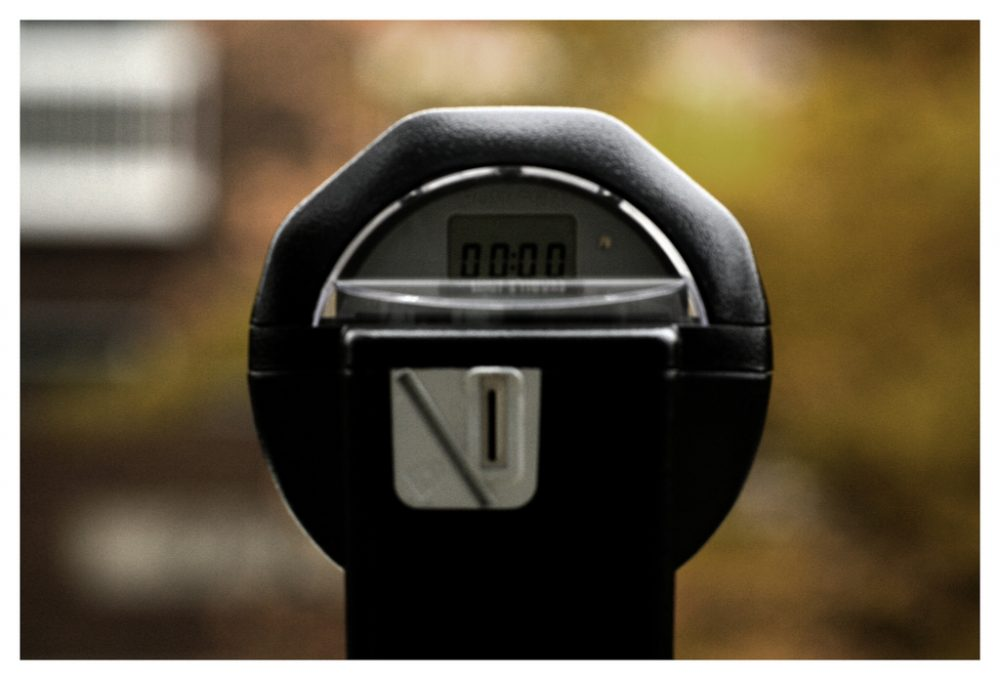 A parking meter in Central Square in Cambridge. (Courtesy Ahmed ElHusselny/Flickr)
