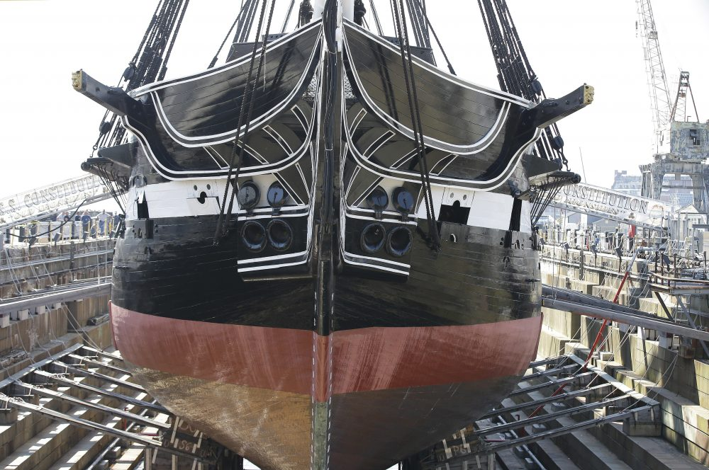 USS Constitution Returns To Boston Harbor After ...Uss Constitution Pictures