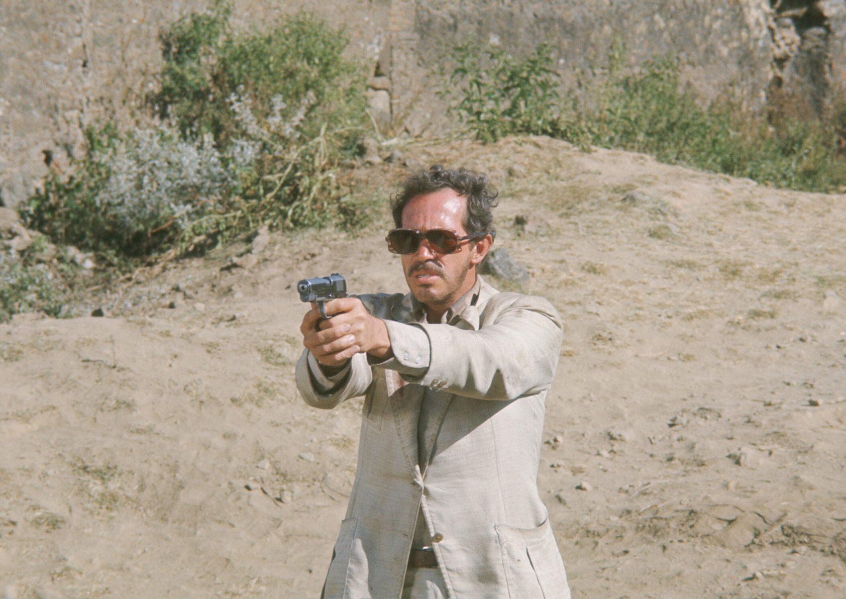 "Warren Oates in Sam Peckinpah's 1974 film ""Bring Me the Head of Alfredo Garcia."" (Courtesy Photofest)"