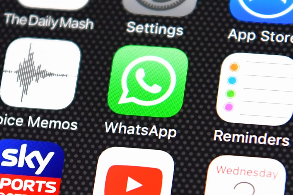 Whatsapp is one app leading the crowded messaging field. (Carl Court/Getty Images)