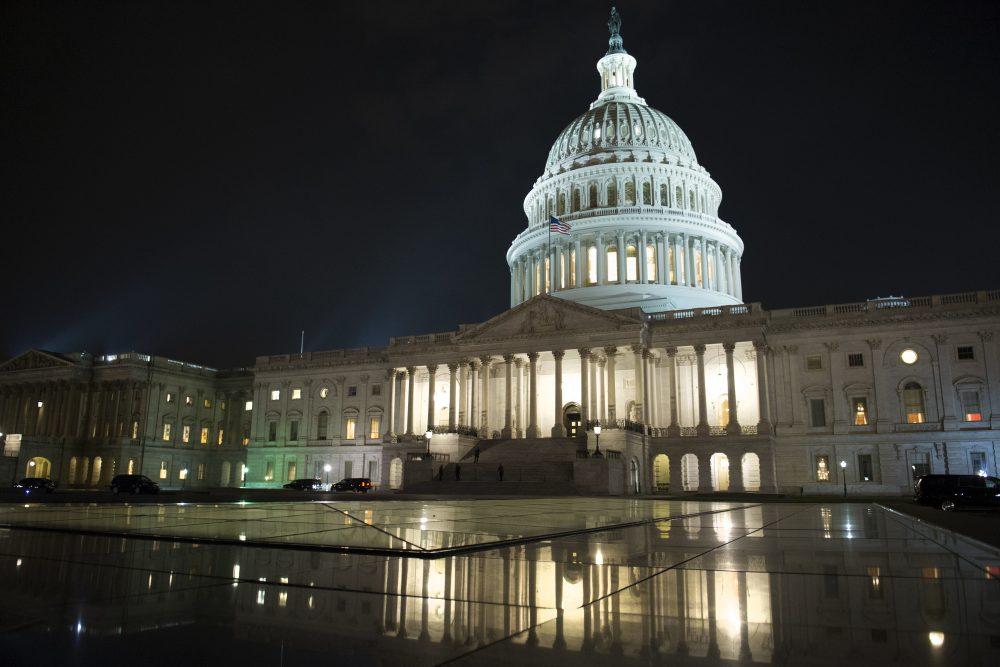 Capitol Hill in Washington, Thursday, July 27, 2017. (Cliff Owen/AP)