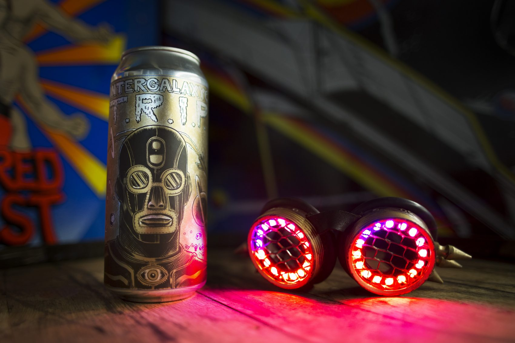 "Aeronaut's special batch of ""T.R.I.P."" beer that comes with social media instructions for The Lights Out's new album. (Courtesy Erin Genett)"