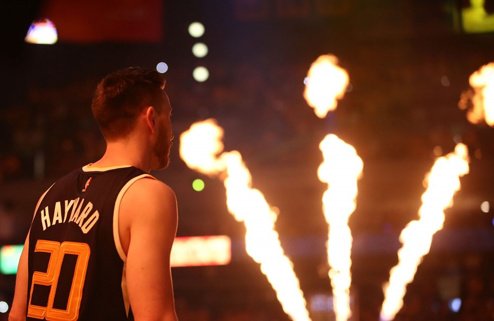 Gordon Hayward has joined the Boston Celtics. Charlie Pierce discusses that signing and other NBA free agency news. (Ezra Shaw/Getty Images)