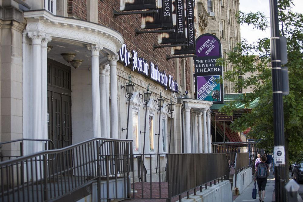 The Huntington Avenue Theatre in Boston. (Jesse Costa/WBUR)