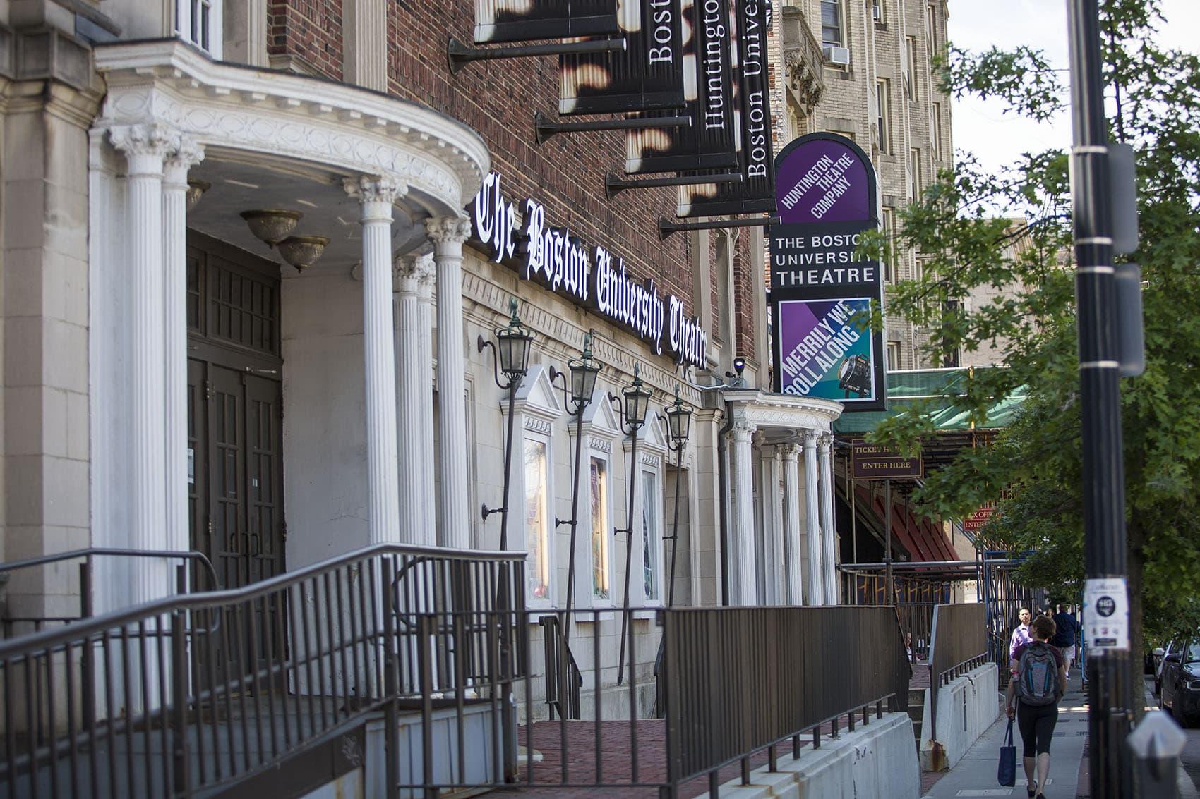 The Huntington Avenue Theatre in Boston. (Jesse Costa/WBUR)