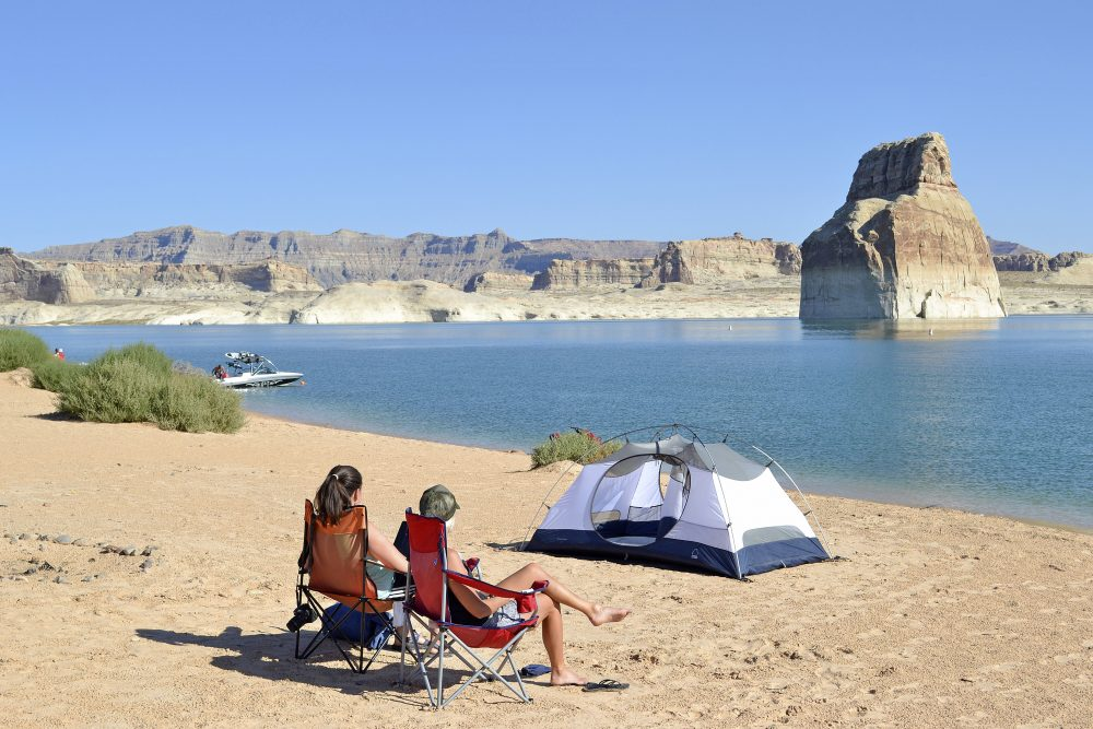 Lake Powell, Lone Rock Beach. (Peter Krocek, National Park Service)