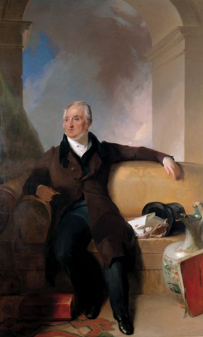Thomas Perkins portrait, by Thomas Sully (Courtesy Boston Athenæum)