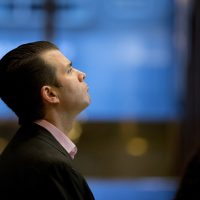 Donald Trump Jr., son of President Donald Trump, waits for an elevator at Trump Tower, Tuesday, Nov. 15, 2016 in New York. (Carolyn Kaster/AP)
