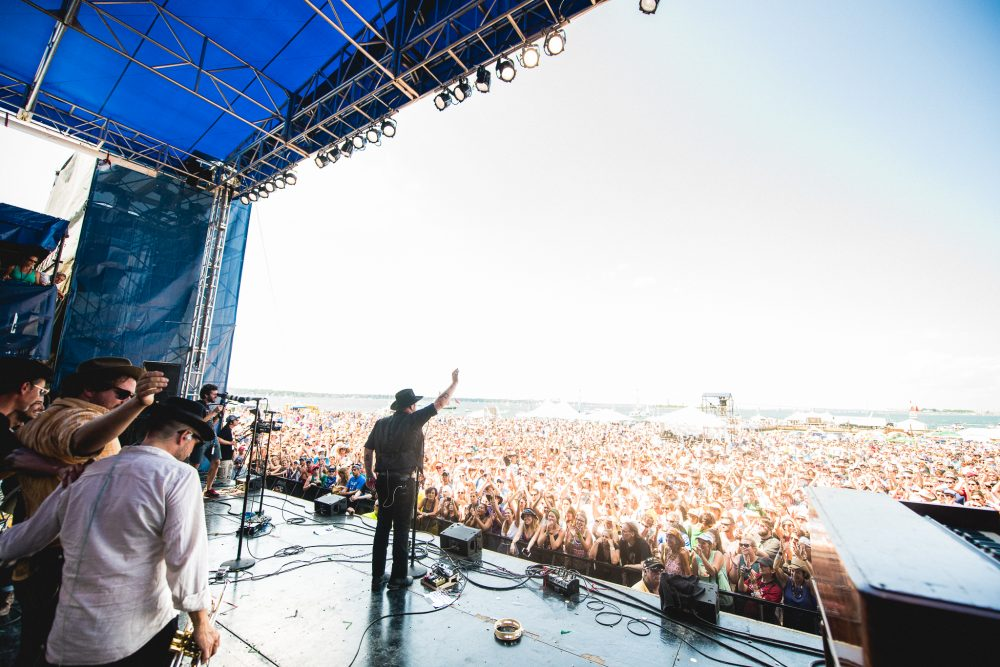 Newport Folk Festival. (Courtesy Adam Kissick)