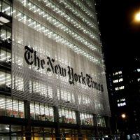 The New York Times building. (JavierDo via Creative Commons)
