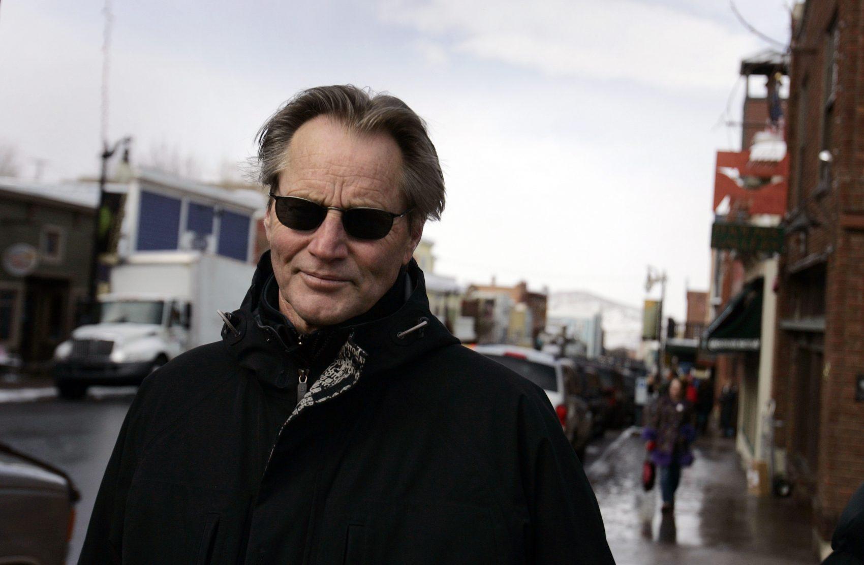 Sam Shepard on Main Street in Park City, Utah, during the Sundance Film Festival in 2006. (Carolyn Kaster/AP)
