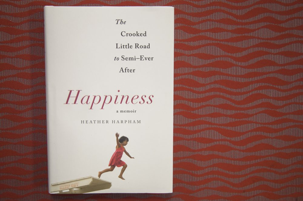 """""""Happiness,"""" by Heather Harpham. (Jackson Mitchell/Here & Now)"""