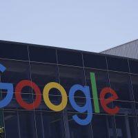 The Google logo at the company's headquarters in Mountain View, Calif. (Marcio Jose Sanchez/AP)