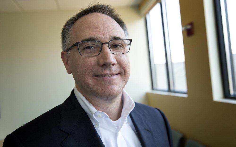 Minuteman Health CEO Tom Policelli. (Robin Lubbock/WBUR)