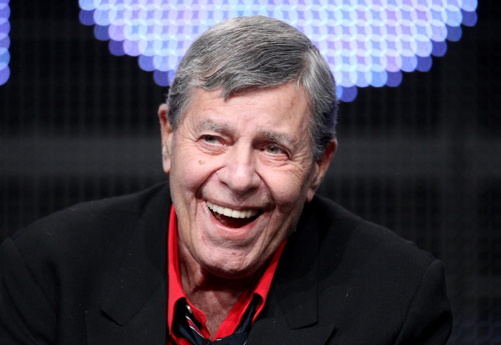 Jerry Lewis speaks at the Beverly Hilton Hotel on July 29, 2011 in Beverly Hills, Calif. (Frederick M. Brown/Getty Images)