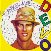 How did a mutated, morphed image of golfer Chi Chi Rodriguez end up on the cover of a Devo album?