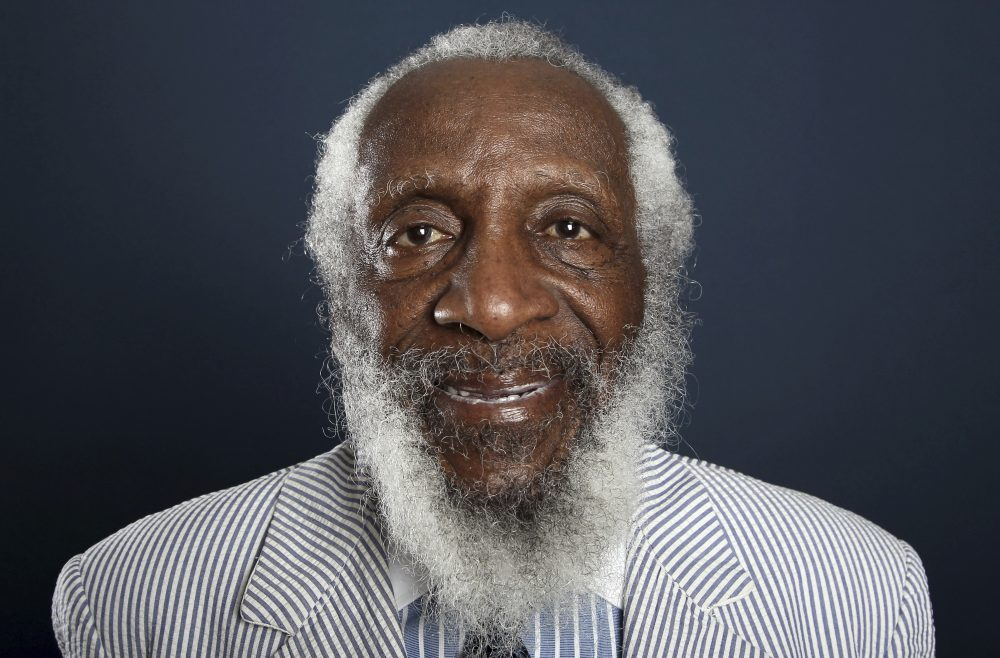 Comedian and activist Dick Gregory in 2012. (Matt Sayles/Invision/AP)