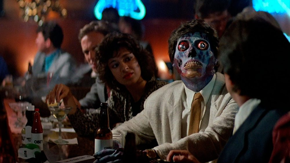 "A scene from ""They Live."" (Courtesy Universal)"