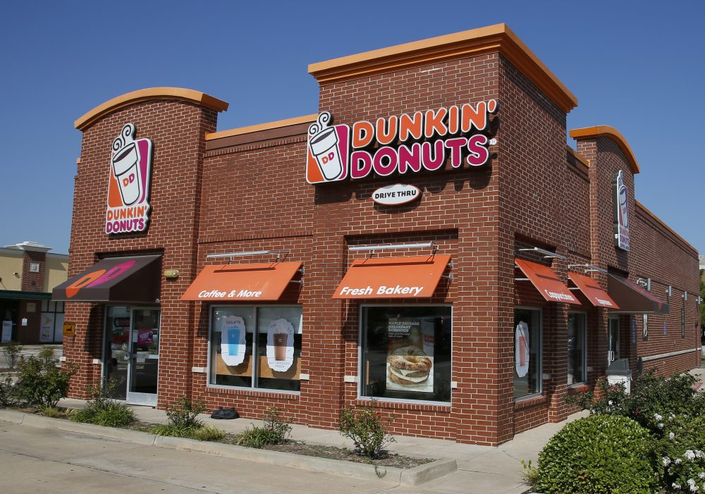 This 2016 file photo shows a Dunkin' Donuts in Edmond, Oklahoma. (Sue Ogrocki/AP, File)