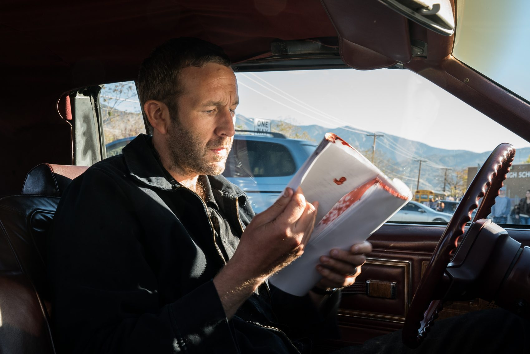 "Miles (Chris O'Dowd) in ""Get Shorty."" (Courtesy Epix)"