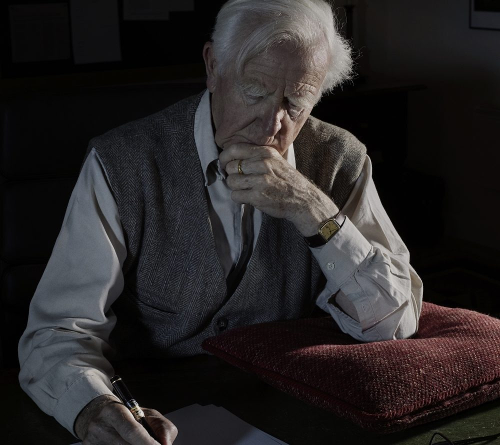 John le Carré. (Courtesy of Nadav Kandar)